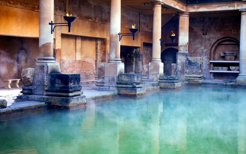 Термы в Древнем Риме и Древней Греции