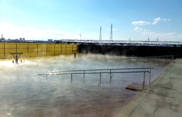 горячий источник Яр Тюмень