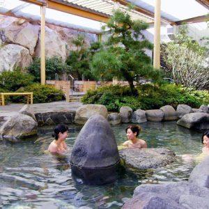 Ōedo Onsen Monogatari (Токио) термальные воды