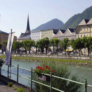 Бад Халль минеральный курорт, Австрия