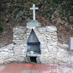 Чёрные воды святой источник Аджи-су