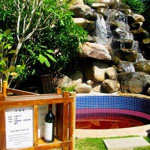 Лучший китайский источник Наньтянь винные ванны
