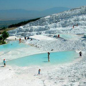 Памуккале термальные источники Турция
