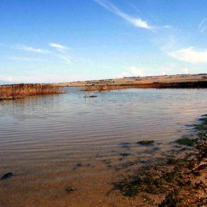 Пикролимни озеро с лечебной грязью