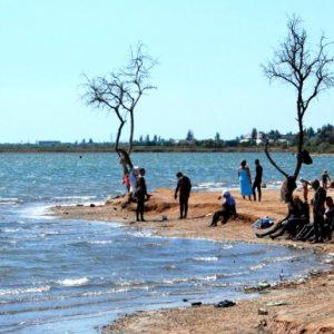 Саки, грязевое озеро в Крыму