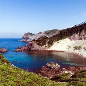 источник на острове Shikine