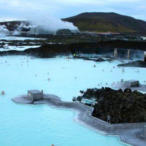 Голубая лагуна – один из самых известных термальных ключей на юго-западе Исландии