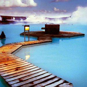 Голубая Лагуна термы Исландии