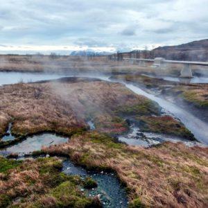 Термальный источник Дейльдартунгюквер в Исландии