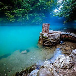 Гагра-голубое озеро