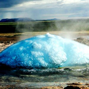 Гейзер Строккюр, Исландия