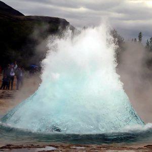 Удивительный Гейзер Строккюр, Исландия