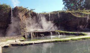 Термальный источник Кындыг в Абхазии