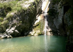 Новый Афон водопады