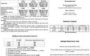 Цены на Шадринский горячий источник