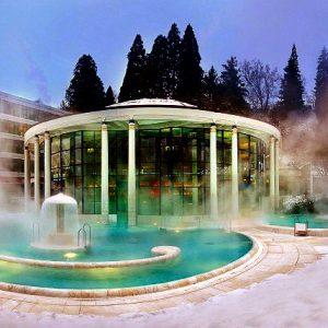 Baden-Baden минеральные источники Германии