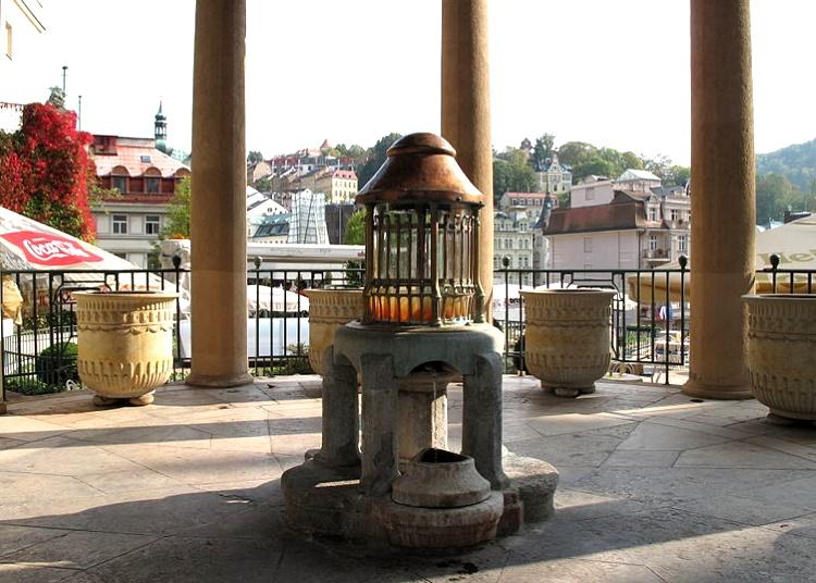 Верхний замковый источник Карловы Вары