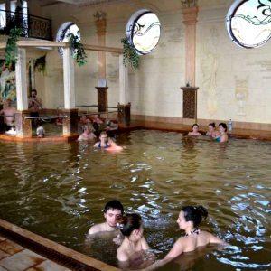 Берегово Жаворонок термальный источник, бассейн