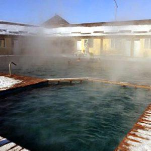 Бассейн с минеральной водой на базе отдыха Аква Термо
