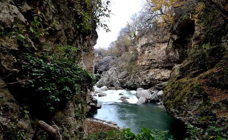 Воды горячих Лагонакских источников